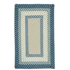 Beachcrest Home Berkley Blue Burst Kids Rug Rug Size: Square 10'