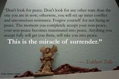 Mindfulness: Do You Have the Courage to Surrender?