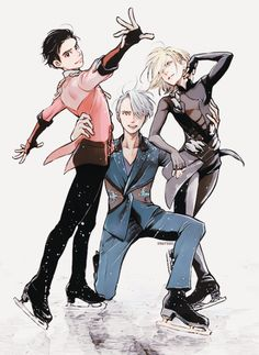 Find images and videos about anime, yuri on ice and yuri plisetsky on We Heart It - the app to get lost in what you love. Yuri On Ice Funny, Yuri On Ice Victuri, Yuri Plisetsky, Yuri On Ice Wallpaper, Yuri On Ice Fanart, Comic Yuri, Yuri On Ice Fondos, Ai No Kusabi, Yuri!!! On Ice