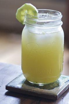 cucumber lemonade... sounds delicious