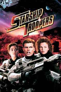 """Starship Troopers"" (1997) Come on...this is some classic shit! Give us a kiss now?"