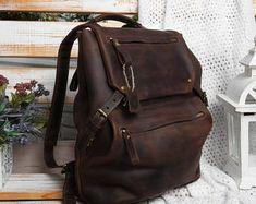 Leather backpack men,leather bag men,mens leather backpack,mens back pack,Men's backpack brown,mens backpack for work,backpack for men