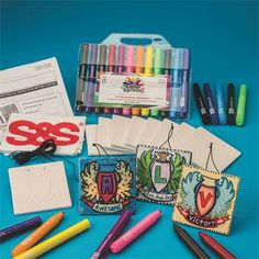 Create-A-Crest Craft Kit (makes 12)