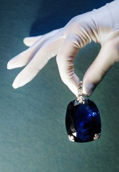 Queen Marie of Romania's Sapphire - The 478-carat sapphire was purchased by King Ferdinand of Romania for Queen Marie in 1921. It was the largest sapphire ever offered at Christie's auction and sold for nearly $1.5 million in 2003.