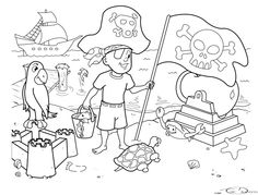 a kids colouring page i created several years ago by seeker64 on deviantart
