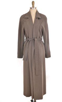 Doncaster Grey Duster Coast Size XL | ClosetDash #doncaster #grey #duster #coat #fulllength #oversize #jacket #fashion #clothing #style #vintage
