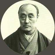Japanese antique photograph.   Japanese antique photograph. Tokugawa Yoshinobu (1837-1913) of the General of 15th Tokugawa shogunate government. hinobu of the most later years.
