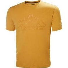 Helly Hansen Mens Skog Graphic Tshirt Midlayer Yellow S Short Dyed Hair, Dyed Hair Ombre, Dyed Hair Purple, Dyed Blonde Hair, Graphic T Shirts, Mode Masculine, Helly Hansen, Butterfly Shirts, Loose Waves Hair