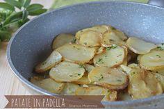Patate in padella ricetta cucinare semplice veloce verdura vegetariano Statusmamma Giallozafferano foto blog blogger blogGz economico