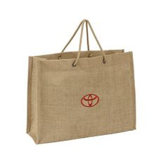 Let this chic jute bag help you develop use of eco-friendly products.