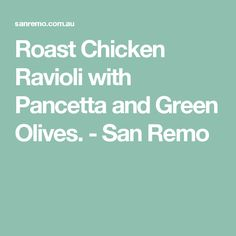 1000+ ideas about Chicken Ravioli on Pinterest | Ravioli, Chicken and ...