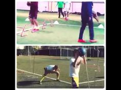 Soccer Speed and Agility training  with resistance bands - Kinetic Bands