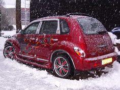 A snowy PT