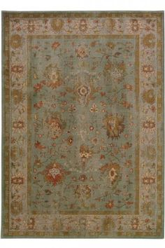 Barletta Area Rug - Blue Rugs - Traditional Rugs - Synthetic Rugs - Area Rugs - Rugs - Made In America - American Made | HomeDecorators.com