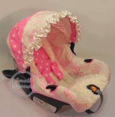 Custom Boutique Paris Pink with Ivory Minky by smallsproutsbaby, $109.00