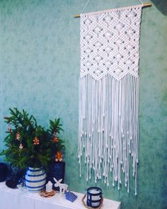 Macrame Wall Hanging by MacrameAngelisay on Etsy