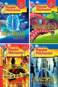 Popular Mechanics For Kids - The Complete Series on DVD (72 Episodes -16 DVD Set) starring Elisha Cuthbert. My kids and I LOVE this show and it's SUPER educational! It's also on TV