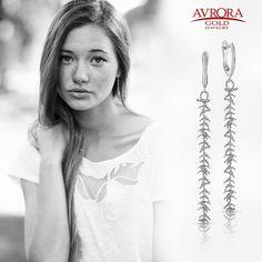 Поднимите себе настроение, благодаря коллекции Avrora Gold.  #avroragold #аврораголд #девушка #украшения #золото #серебро