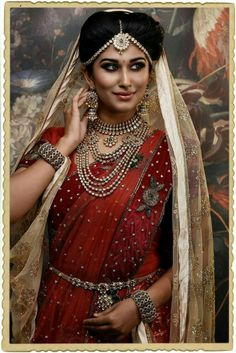 These days, we see brides experimenting on their looks at their weddings! Gone are the days when they stuck to their traditional wear only. Now, we have brides wearing a mix of dresses from various cultures. South Indian brides wear Lehengas and evening gowns for their reception. Gone are the days of the traditional Red Saree. We have brides wearing bright yellows, deep purple and bottle greens! We at Shopzters bring to you, a few bridal choices, which are a little different and yet the same…