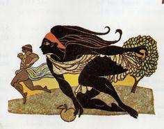 The Art of Leo and Diane Dillon: C. M. Bowra: Classical Greece, Atalanta