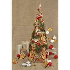 Christmas Home Decor – Rustic Christmas tree Rustic Christmas table decor – a unique product by KseniyaRevta on DaWanda