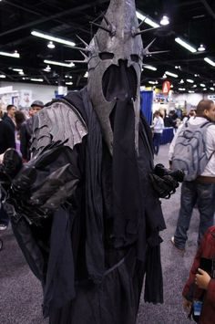 """Nazgul Witch-King """"Dwimmerlaik""""cosplay  (a.k.a Ringwraiths, Black riders, the Nine, etc.)"""
