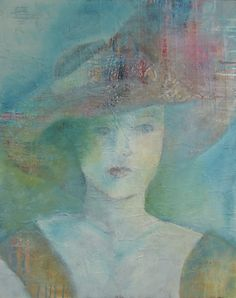 Girl with Hat..judy thorley
