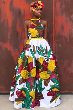 Latest Ankara Dress Styles - Loud In Naija Latest Ankara Dresses, Ankara Dress Styles, African Print Dresses, African Fashion Dresses, African Dress, Latest Dress, Fashion Outfits, African Fashion Designers, African Print Fashion