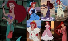 Ariel Wow. I didn't realize how many outfits she has...