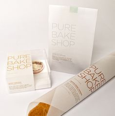 Pure Bake Shop Packaging & Identity- LOVE THE TYPE AND GRAPHICS