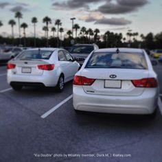 Double Kia = double dose of awesome. Nice #KiaKey photo, Duck M!