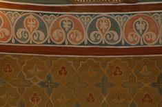 Church Interior, Russian Orthodox, Byzantine, Stencils, Medieval, Ornaments, Rugs, Wallpaper, Artist