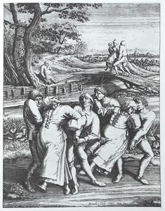 "A ""dancing plague"" killed people in Strasbourg in 1518.  A ""dancing mania"" began in July 1518, when a woman, Frau Troffea, began to dance fervently in a street in Strasbourg for about four to six days. Within a week, 34 others had joined, and within a month, there were around 400 dancers. Some of these people eventually died from heart attack, stroke, or exhaustion."