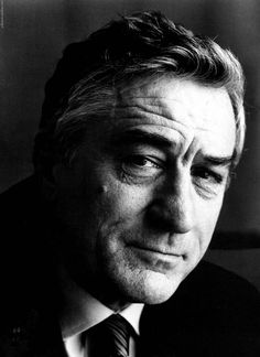 Robert DeNiro-- Okay, so he's a lot older than me.  But I have always had a major crush on him. Even when playing a bad guy, his Italian persona shines through and drives me wild.