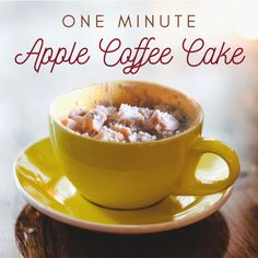 This throwback recipe from our archives is quick and easy if you've got a box of our yellow cake and some applesauce lying around. I wonder if it would work with our pancake mix, too? Hmmmm Gluten Free Quick Bread, Gluten Free Flour, Dairy Free, Better Batter, Apple Coffee Cakes, Gluten Free Breakfasts, Few Ingredients, Pancake, Glutenfree
