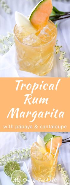 This tropical rum margarita will take you straight to the islands. Mouthwatering papaya, sweet cantaloupe, and a splash of Captain Morgan make the perfect boat drink.