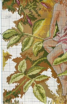 Fairy Whispers Chart Counted Cross Stitch Patterns Needlework DIY DMC