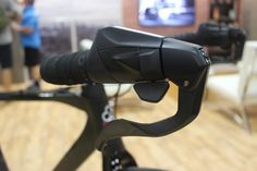 This unique handlebar shifter is part of Shimano's new urban-focused Metrea group