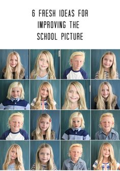 6 fresh ways to improve the school picture