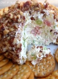 EASY Pineapple Cheese Ball!  Perfect appetizer!  Definitely a crowd pleaser!
