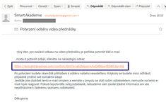 Dkujeme za V zjem Pro zskan video pednky prosm zkontrolujte Email také sloky Homadné a Spam a kliknte na potvrzovac odkaz  SmartAkademie