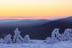 Shapes of Mother Nature in Finnish Lapland. Photo by virpula1