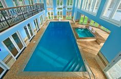 or 2 indoor pools....