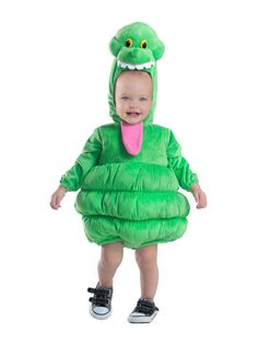 Ghostbusters Toddler Boys Deluxe Slimer Costume