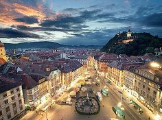 City of Graz: Historic Centre and Schloss Eggenberg - Graz, Austria  http://www.travelandtransitions.com/austria-travel/