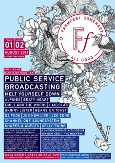 #festival #illustration farmfestival.co.uk