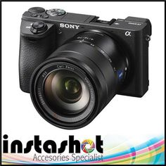 Sony Alpha a6500 Mirrorless Digital Camera with Sony SEL 16-70mm f/4 ZA Lens kit