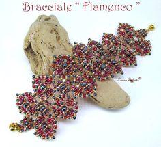 """Laura Solerte: Bracciale """"Flamenco"""""""