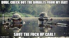 Shut the f**k up Carl!