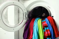 You bought that lip-smacking red shirt and you want it to stay that vivid. But, constant cycles through the washer and dryer can leave it dulled out. Enter these four natural methods to keep colored clothes looking fresh. Dorm Hacks, Dorm Tips, Disinfecting Wipes, Clorox Wipes, Homemade Lip Balm, Homemade Products, Laundry Hacks, Laundry Rooms, Cleaners Homemade